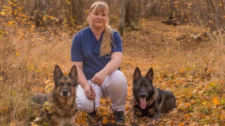 djurvårdare Hanna