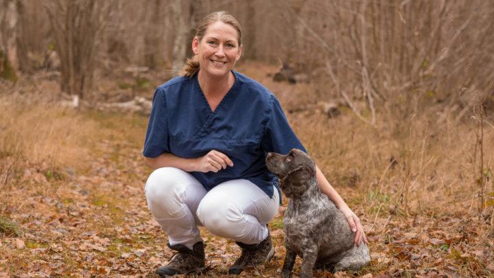 djursjukskötare Viktoria